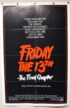 Friday the 13th -The Final Chapter | Movie Poster
